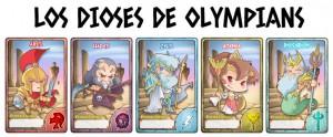 dioses de Olympians War